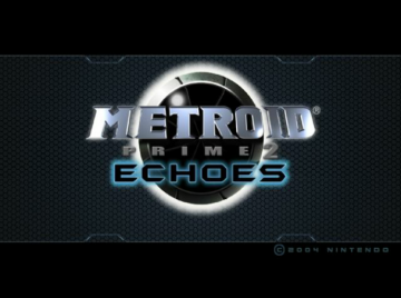 'Metroid Prime 2: Echoes' title screen